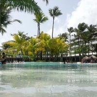 Photo taken at Pool Iberostar Punta Cana & Dominicana by Андрей Р. on 8/12/2012