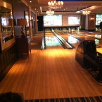 Photo taken at High Rollers Luxury Lanes & Lounge by Kristine N. on 5/26/2012