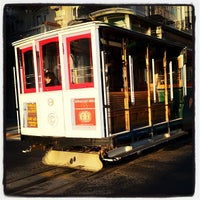 Photo taken at Hyde Street Cable Car by Lisa on 5/2/2012