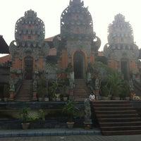 Photo taken at Panggung Terbuka Balai Budaya Gianyar by Youdi M. on 6/5/2012