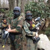 Photo taken at Skirmish USA by Bill B. on 4/21/2012