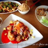 Photo taken at 5 Spice Asian Flavors by Wayne W. on 8/1/2012