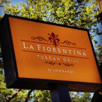 Photo taken at La Fiorentina Tuscan Grill by Patrizio on 9/9/2012