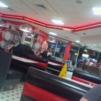 Photo taken at Steak 'n Shake by Brooke P. on 4/2/2012