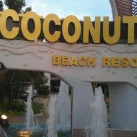 Photo taken at Coconut Beach Resort Koh Chang by อ้ายเกี๊ยก M. on 4/13/2012