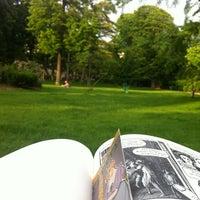 Photo taken at Jardin du Ranelagh by Ana G C. on 5/20/2012