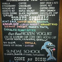 Photo taken at Sundae School Ice Cream Parlor by Emily L. on 9/1/2012