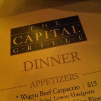 Photo taken at The Capital Grille by Ezzy G. on 8/8/2012