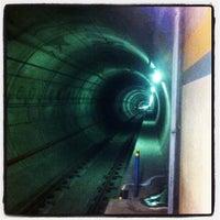 Photo taken at University LRT Station by Danny K. on 8/27/2012