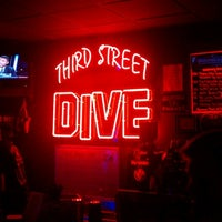 Photo taken at Third Street Dive by Christopher B. on 8/25/2012
