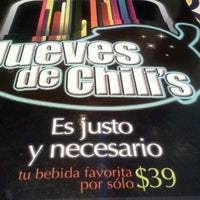 Photo taken at Chili's Coapa by Jeanette on 8/9/2012