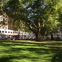 Photo taken at Berkeley Square by Igor T. on 9/8/2012