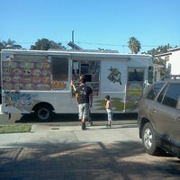 Photo taken at The Best Ice Cream Truck in LB by Viciously M. on 8/25/2012
