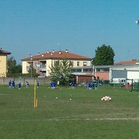 Photo taken at Campo allenamento Persiceto Rugby e Knights by Michele S. on 4/27/2012