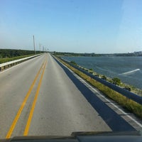 Photo taken at Dam Over Lake Grapevine by Patrick on 4/25/2012