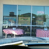 Photo taken at Rosati's Pizza by blahh b. on 7/28/2012