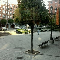 Photo taken at Plaza De La Paz by Susana G. on 6/25/2012