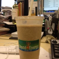 Photo taken at Liquid Energy Juice Bar and Cafe by Daniel P. on 8/16/2012