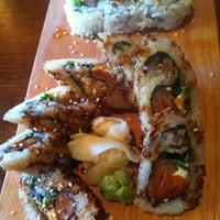 Photo taken at Oishii Sushi Lounge by Bonita T. on 4/6/2012
