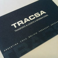 Photo taken at Tracsa - Transporte & Logistica Internacional by Abel Q. on 5/14/2012