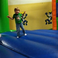 Photo taken at Bounce-a-Palooza by Shannon T. on 2/25/2012