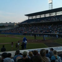 Photo taken at Harbor Park by Lori F. on 6/18/2012