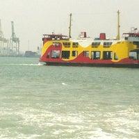 Photo taken at Penang Ferry Terminal (Pangkalan Raja Tun Uda) by Ryan K. on 7/28/2012