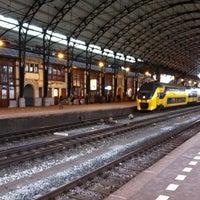 Photo taken at Station Haarlem by Majieke K. on 2/19/2012