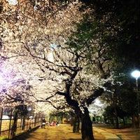 Photo taken at Tetsugakudo Park by k2low on 4/6/2012