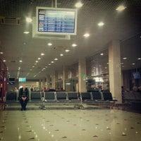 Photo taken at Терминал 1 by Anton A. on 9/8/2012