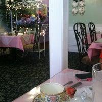 Photo taken at The Secret Garden Tea Cafe & Gift Shoppe by Julia H. on 8/23/2012