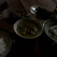 Photo taken at Sate & Sop Kambing Saluyu by Nanda S. on 2/6/2012
