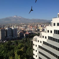 Photo taken at Hilton Kayseri by Emrah A. on 7/29/2012