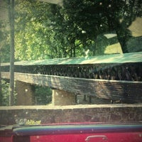 Photo taken at Clarkson Covered Bridge by Beentheredoingthat on 5/27/2012
