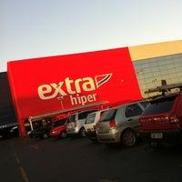 Photo taken at Hipermercado Extra by Ana E. on 5/2/2012