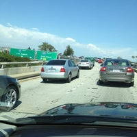 Photo taken at I-405 (San Diego Freeway) by Dave M. on 8/11/2012