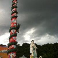 Photo taken at ศาลเจ้าซำปอกง ทุ่งสง by Joey H. on 8/1/2012