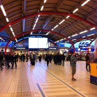 Photo taken at Utrecht Central Station by LHNMeaning on 5/12/2012