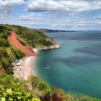 Photo taken at Babbacombe Downs by Chris R. on 5/13/2012