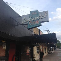 Photo taken at The Continental Club by Mark A. on 6/13/2012