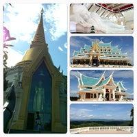 Photo taken at Wat Pa Phu Kon by Maythawin P. on 8/12/2012