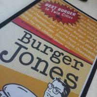 Photo taken at Burger Jones by Dave on 7/11/2012