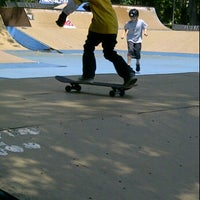 Photo taken at Coconut Grove Skatepark by Tommy on 3/17/2012