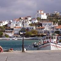 Photo taken at Batsi by Visit Greece on 7/10/2012