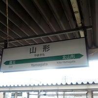 Photo taken at Yamagata Station by maturica on 8/9/2012