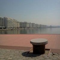 Photo taken at Thessaloniki Port by Natalenia on 3/21/2012
