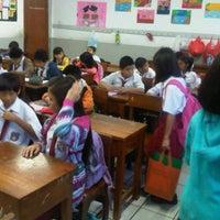 Photo taken at SMA Santo Kristoforus 1 by Dina w. on 5/15/2012