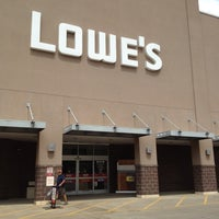 Photo taken at Lowe's Home Improvement by Eve on 8/23/2012