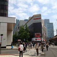 Photo taken at Yamanote Line Yūrakuchō Station by Kohei I. on 5/7/2012