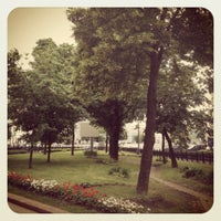 Снимок сделан в Никитский бульвар пользователем Элина Ю. 6/13/2012